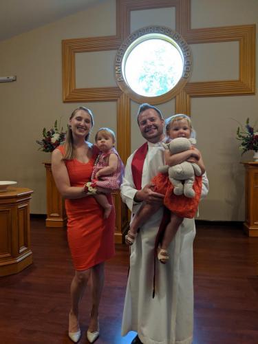 Pastor David Starr & Family